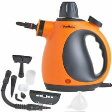 VonHaus 07-725 900W 250ml Hand Held Steam Cleaner - Orange