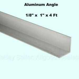 "Aluminum Angle 6061 T6 2/"" x 2/"" x 3//8/"" wall x 72/"""