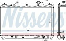 Radiator-GAS, Natural Front Nissens 646351