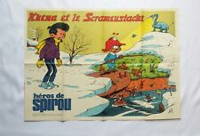 BD - Supplement Spirou 1880 Poster Khéna et le scrameustache / GOS / 1974