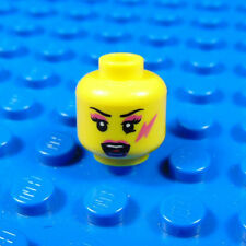 LEGO-MINIFIGURES SERIES [7] X 1 HEAD FOR THE ROCKER GIRL FROM SERIES 7 PARTS