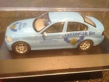 BMW SERIE 3 1/43 SCALE MODELCAR OETTINGER BEER BIER BIERE CERVEZA MINT IN BOX