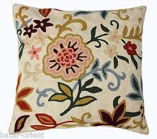 40x40 cm exklusiv Orient handbestickte kelim sumakh Kissen Sitzkissen cushion N2