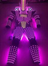 LED Robot Suit Costume LEDS Party Show Glow Night Lights Robots