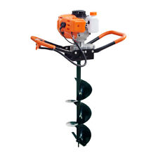 "2.2HP 52CC Gas Powered Post Hole Digger with 10"" Earth Auger Power Engine"