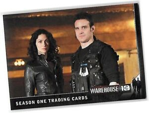 Warehouse 13 Season 1 - CP1 Promo Card - SDCC San Diego Comic Convention 2010
