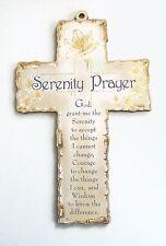 Serenity Prayer Wooden Wall Cross Religious Gift Christian