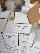 1997 Score Football Card Complete Set (1 - 330) Near Mint to Mint READ (AYC)