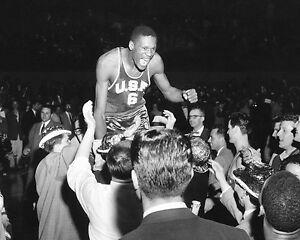 Bill Russell - U of San Fran.1955 NCAA Basketball Championship, 8x10 Team Photo