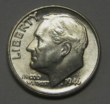 Gorgeous 1946-D Silver Roosevelt Dime Grading Choice Uncirculated  DUTCH