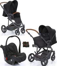 ABC Design 3 in 1 Kinderwagen Set Circle Merano 4 Kombikinderwagen mit Autositz