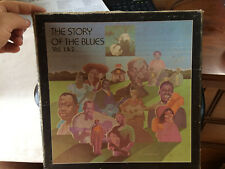 "THE STORY OF THE BLUES VOL 1 & 2 LP VINYL RECORD 12"" BOX SET MONO"