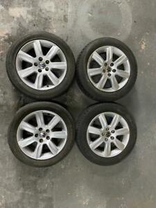 """VW Polo 16"""" Alloy Wheels and Tyres 2010-2015 - 185 60 15"""