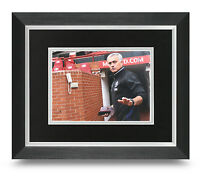 Jose Mourinho Signed 10x8 Photo Display Framed Man Utd Memorabilia Autograph COA