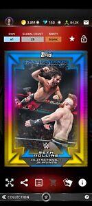 Topps WWE SLAM Digital 2018 Old School Seth Rollins 25CC