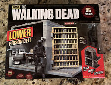 2015 McFarlane Toys AMC The Walking Dead Lower Prison Cell! 96 Pcs new
