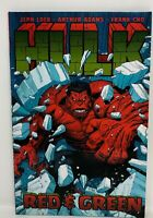 DC HULK Red .& Green Jeph Loeb Arthur Adams Frank Cho Graphic Novel  TPB
