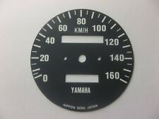 Yamaha XT500 1976 -1979  Replacement KPH Speedometer Speedo Face QEU1SF