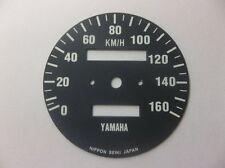 Yamaha XT500 1976 -1979  Replacement KPH Speedometer Speedo Face QEU1SF