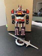 1984 Robot Ancien BIOMAN DX Bandai Biojet Popy Métal Sentai Version Japonaise