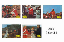 Zulú - Set of 5 A4 Tamaño REIMPRESIÓN LOBBY CARTELES #3