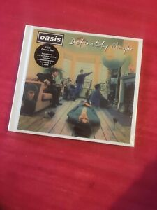 Oasis.Definitely Maybe. 3XCD HARDBACK DELUXE DIGIPAK. BRAND NEW AND SEALED 👍⭐️