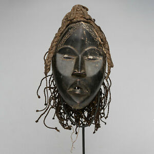 CN4 Dan Yakuba Maske Afrika Alt / Masque Dan Yacouba ancien / Old Dan mask