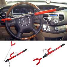 Universal Vehicle Car Van Anti-Theft Steering Wheel Lock Security Device + Key