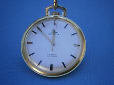 **********   elegante Frackuhr/Taschenuhr von Dugena mit Uhrenkette   **********