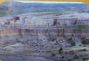 Erosion, Wells, Washington, North of Myton, Utah, Magic Lantern Glass Slide