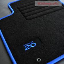 MP Velours Fußmatten 4-teilig Edition blau für Hyundai i20 ab Bj.12/2014 -
