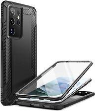 Galaxy S21 Ultra Case Clayco Xenon Full Body Slim Cover with Screen Protector