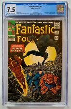 Fantastic Four #52 CGC 7.5 (1966) ~1st Appearance of Black Panther