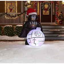 Star Wars Darth Vader Airblown Inflatable 6 FOOT Light & Sound Christmas Disney