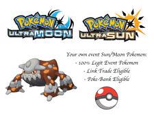 Pokemon Ultra Sun and Moon 2018 Legends Japanese Event Pokemon Heatran 3b0583e05cbe