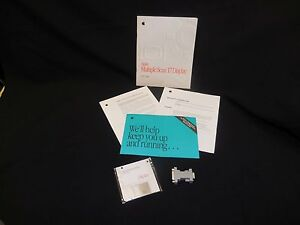 Apple Multiple Scan 17 Display User's Guide, Software & VGA  Monitor Adapter