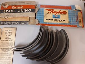 1935 - 1945 DODGE PLYMOUTH Chrysler DESOTO products, DRUM brake liningS 145 D