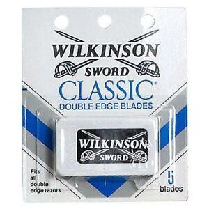 Wilkinson sword classic double edge razor blades - 5 per pack