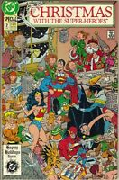 DC Comics CHRISTMAS WITH THE SUPER HEROES Issue # 2 1989 VF/NM