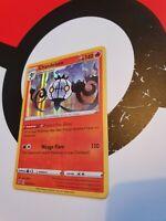 Pokemon Chandelure 33/192 Rebel Clash Holo Rare