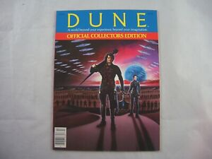 Dune Official Collectors Edition 1984 Movie Magazine