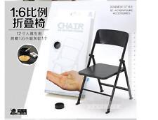 5PCS 1/6 scale PVC folding Chair for hot toys enterbay dragon joe gi did blythe