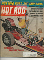 Vintage HOT ROD Magazine January 1970 Issue
