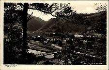 1939 Stempel Bad Neuenahr a/ AK Walporzheim Blick das Dorf Fluß Brücke Weinberge