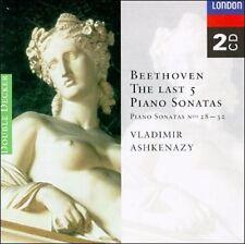 Beethoven: The Last 5 Piano Sonatas (CD, Aug-1996, London)