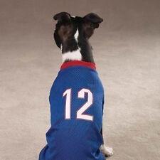 Chihuahua Pomeranian Dog #12 Blue Sport Football Jersey Shirt XS X Small