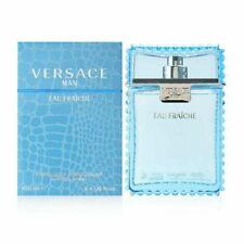 VERSACE Man Eau Fraiche for Men 3.4 oz cologne 3.3 EDT Spray *NEW SEALED PERFUME