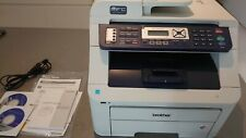 Brother MFC-9320CW All-In-One Laser Printer in original box, two new toners!