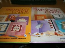 Card Making 2 Books Both Different