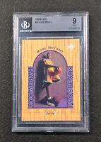 Los Angeles Lakers Kobe Bryant 1996/97 Upper Deck UD3 #19 BGS 9 Mint Rookie Card